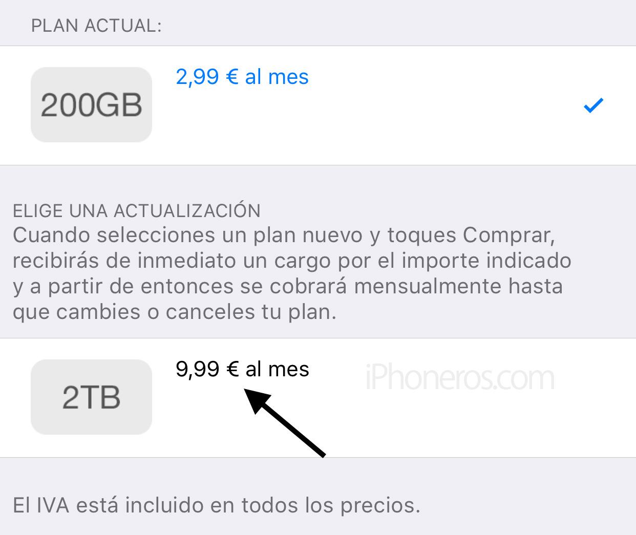 2 TB por 9,99 euros