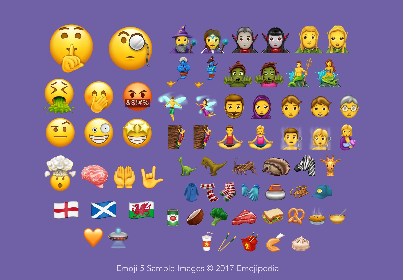 56 recientes emojis