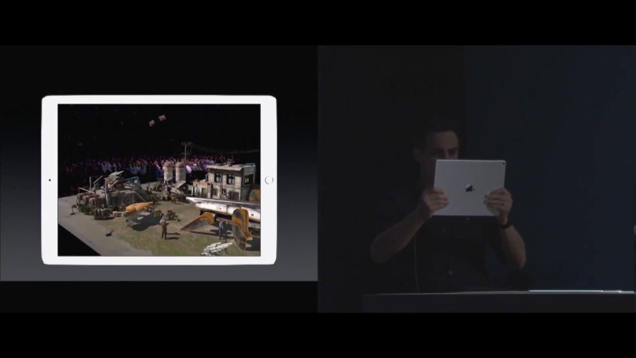 Realidad Aumentada en el iPad Pro