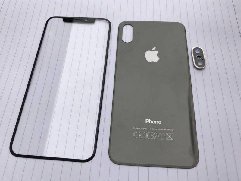 Supuestos componentes del supuesto iPhone 8
