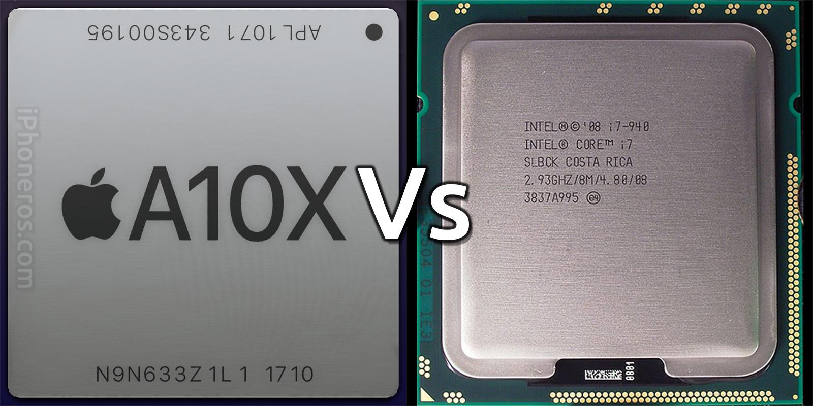 Apple A10X vs Intel Core i7
