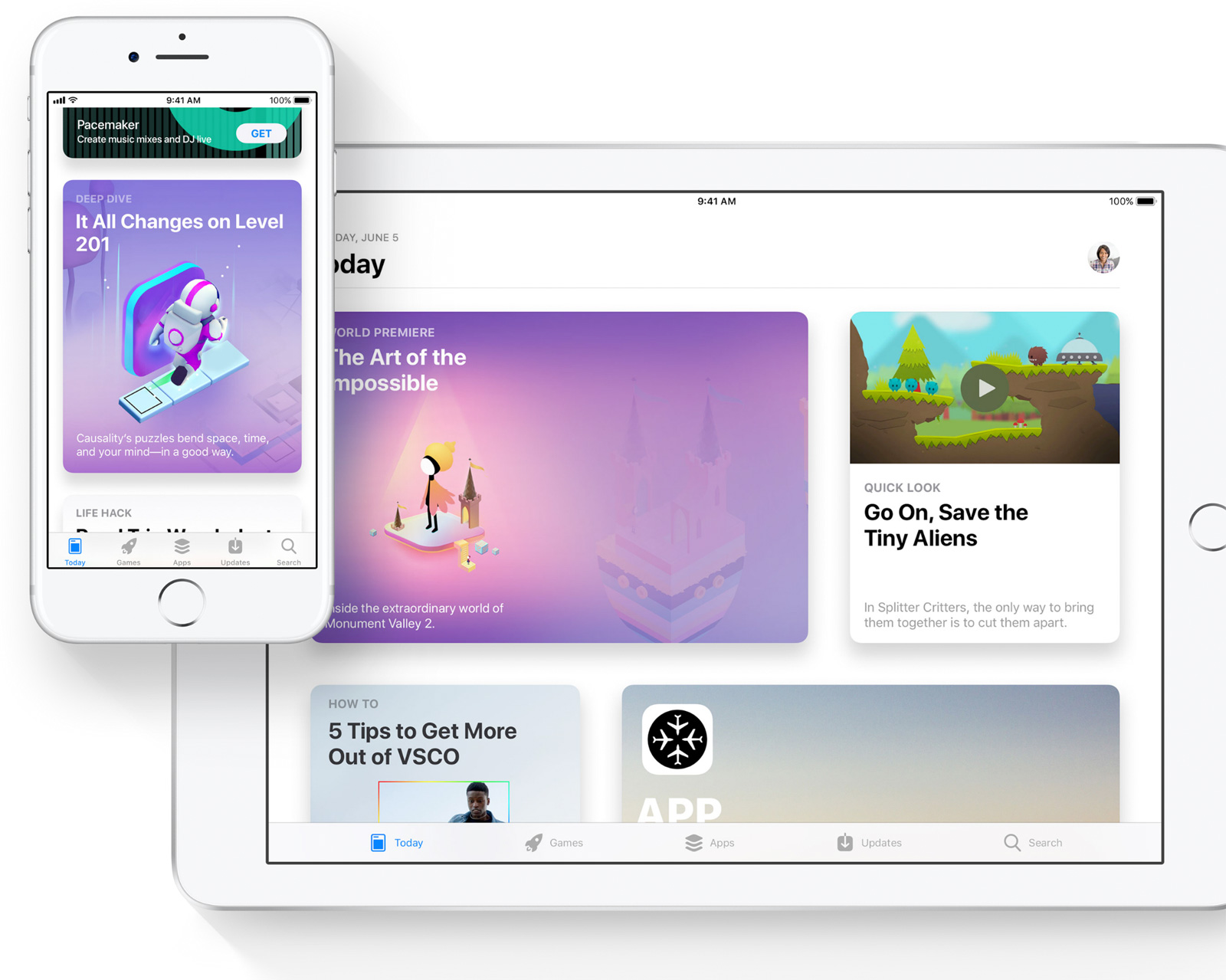 Nueva App Store en iOS™ 11