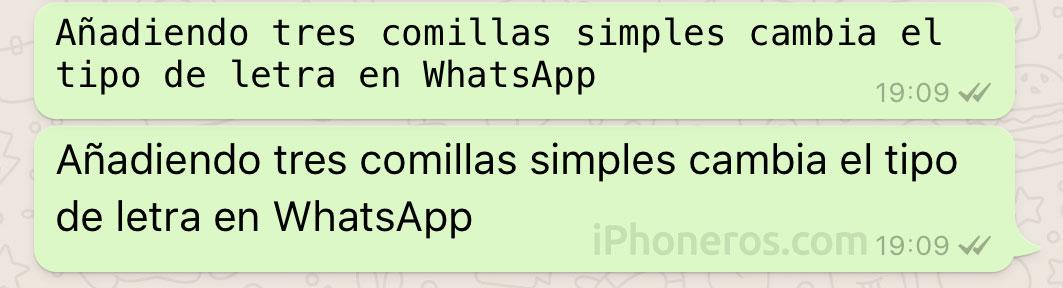 Así se cambia el tipo de letra en WhatsApp