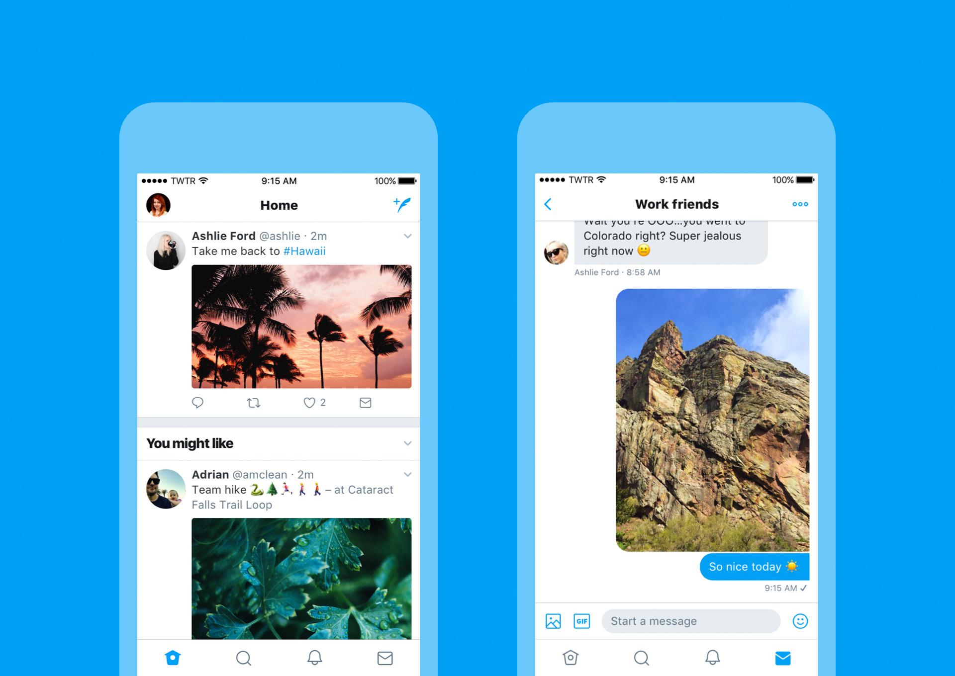 App de Twitter para iOS