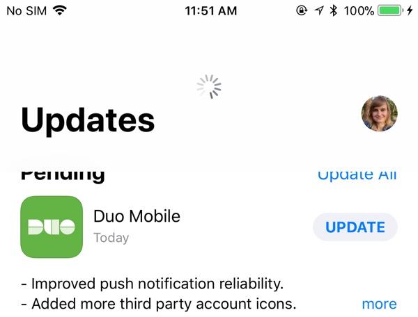 Actualizaciones utilizables en la App Store con iOS™ 11