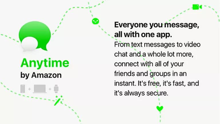 App de mensajería instantánea de Amazon™ Anytime