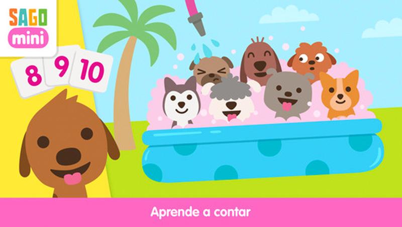Jardín para cachorros Sago Mini