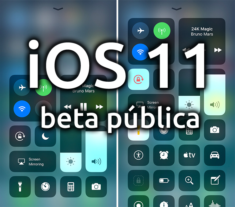 iOS once beta pública