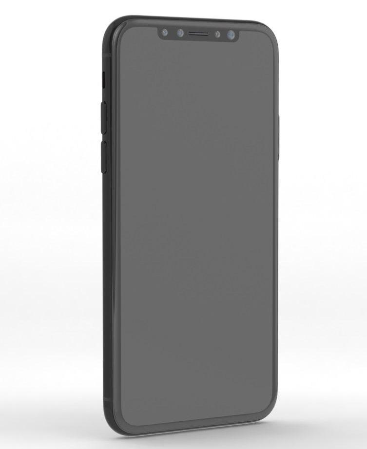 Supuesto boceto del iPhone Pro u iPhone 8