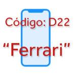 """iPhone ocho u Pro con nombre D22 """"Ferrari"""""""
