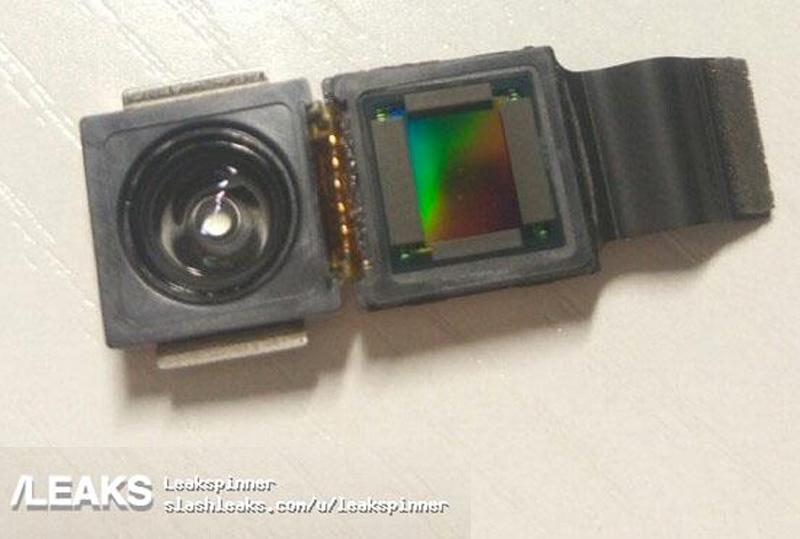 Supuesto módulo de cámara frontal del iPhone 8