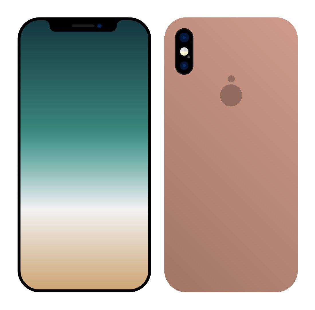 Pegatina del iPhone 8 rechazada por Apple
