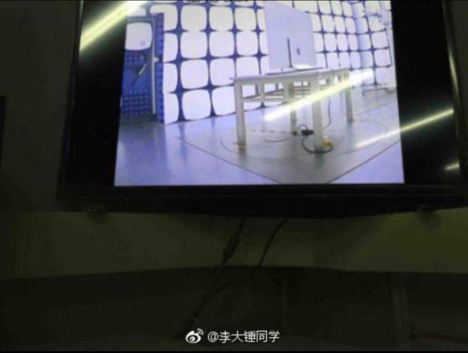 Supuesta TV de Apple siendo probada en alguna fábrica