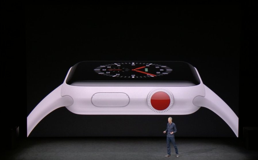 Apple Watch series tres de cerámica blanca