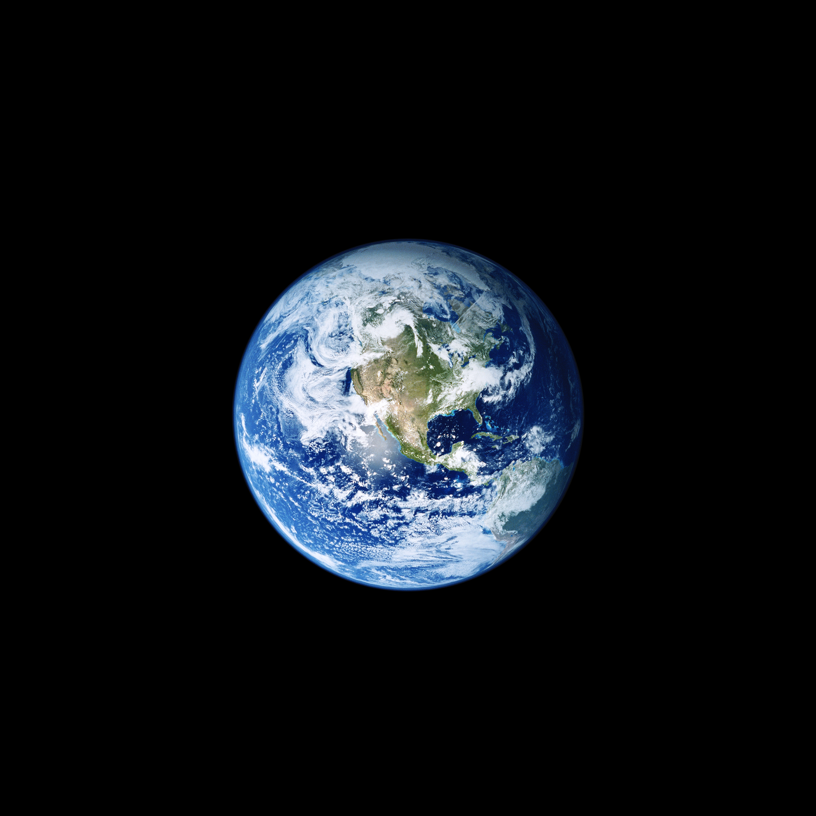 Fondo de pantalla de la Tierra iOS once para iPhone