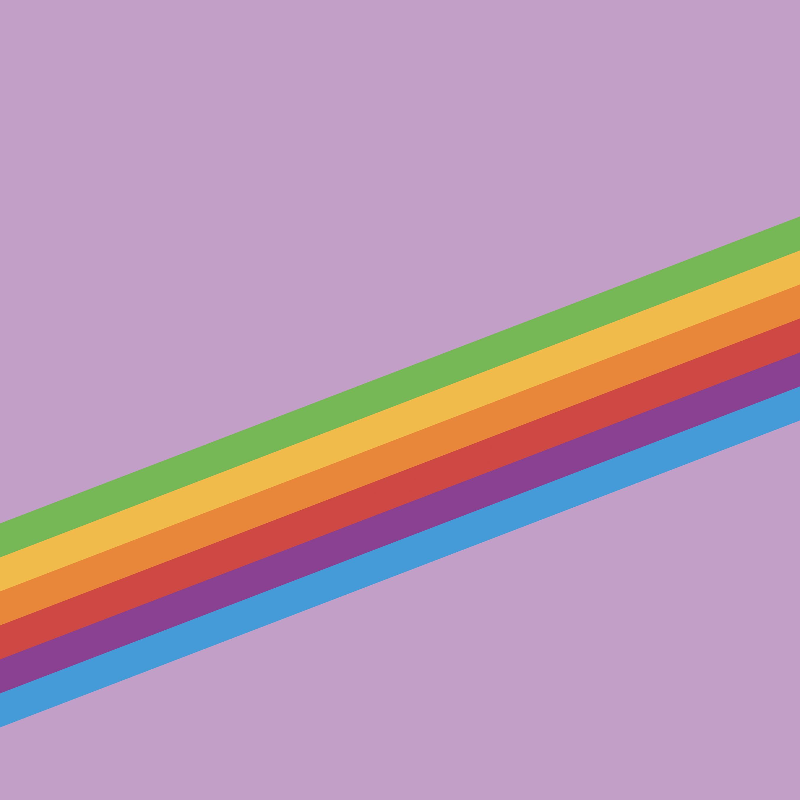 Fondo de pantalla de arcoiris iOS once para iPhone