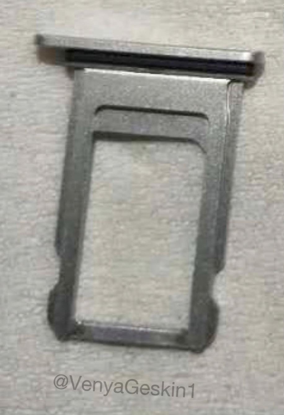 Supuesta bandeja de SIM del iPhone Edition