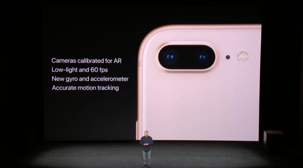 Mejoras de la camara del iPhone 8