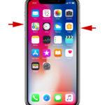 Cómo hacer alguna captura de monitor en el iPhone X