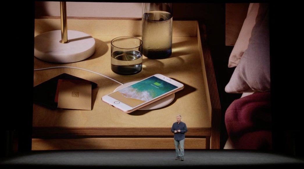 Cargando el iPhone inalámbricamente