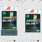 Editando alguna captura de monitor en iOS™ 11