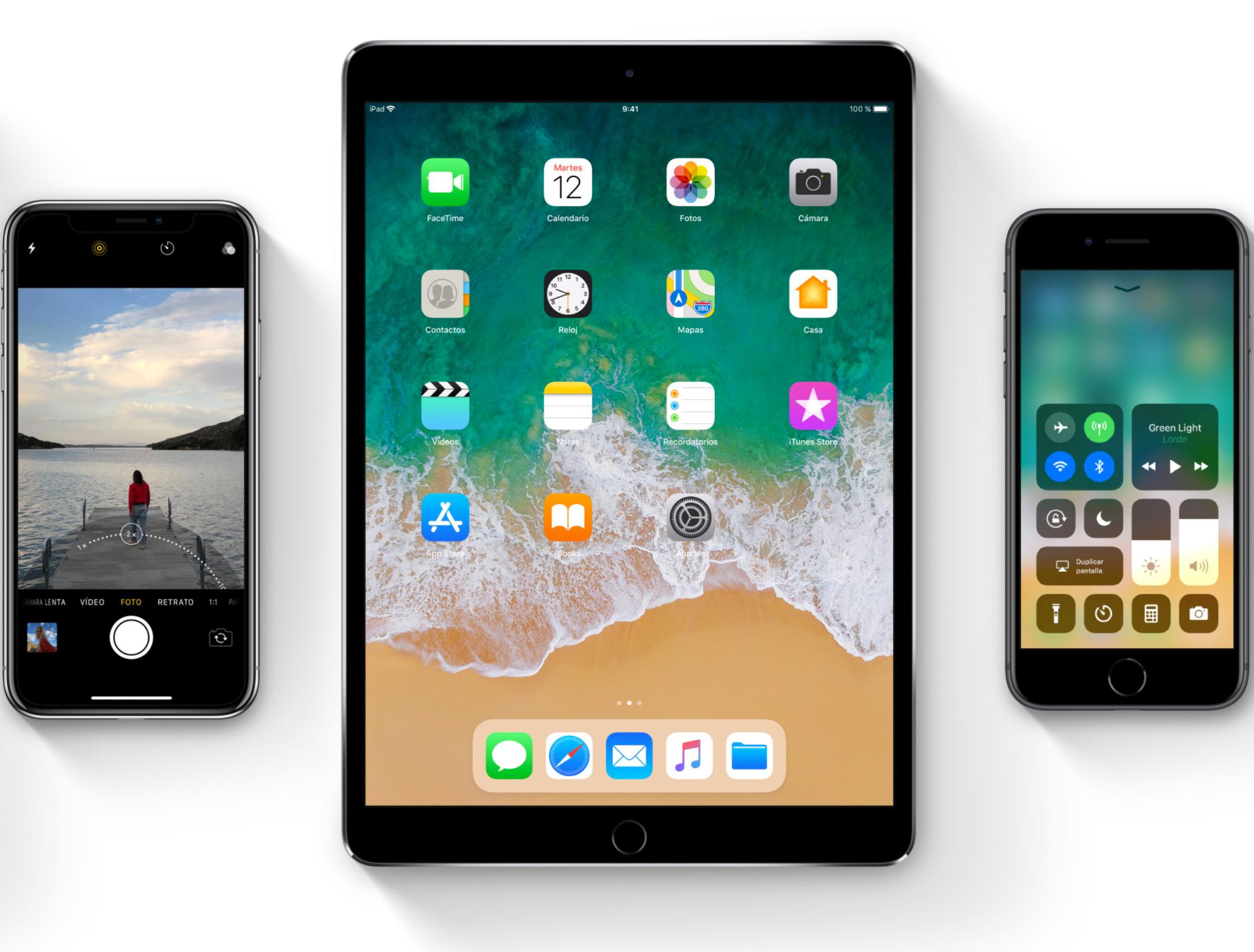 iPhone e iPad con iOS 11