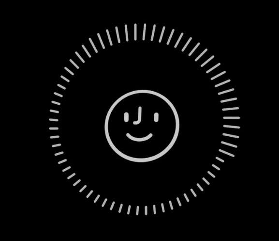 Registro de una noticia hacia de Face ID en un iPhone X