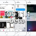iOS 11.1 beta 3 ya disponible en el portal de desarrolladores y de pruebas públicas