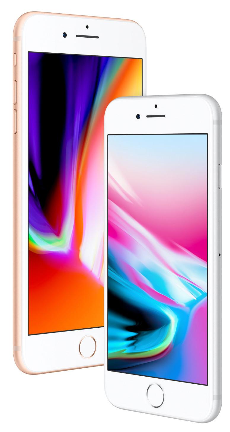 Pantalla Retina del iPhone 8