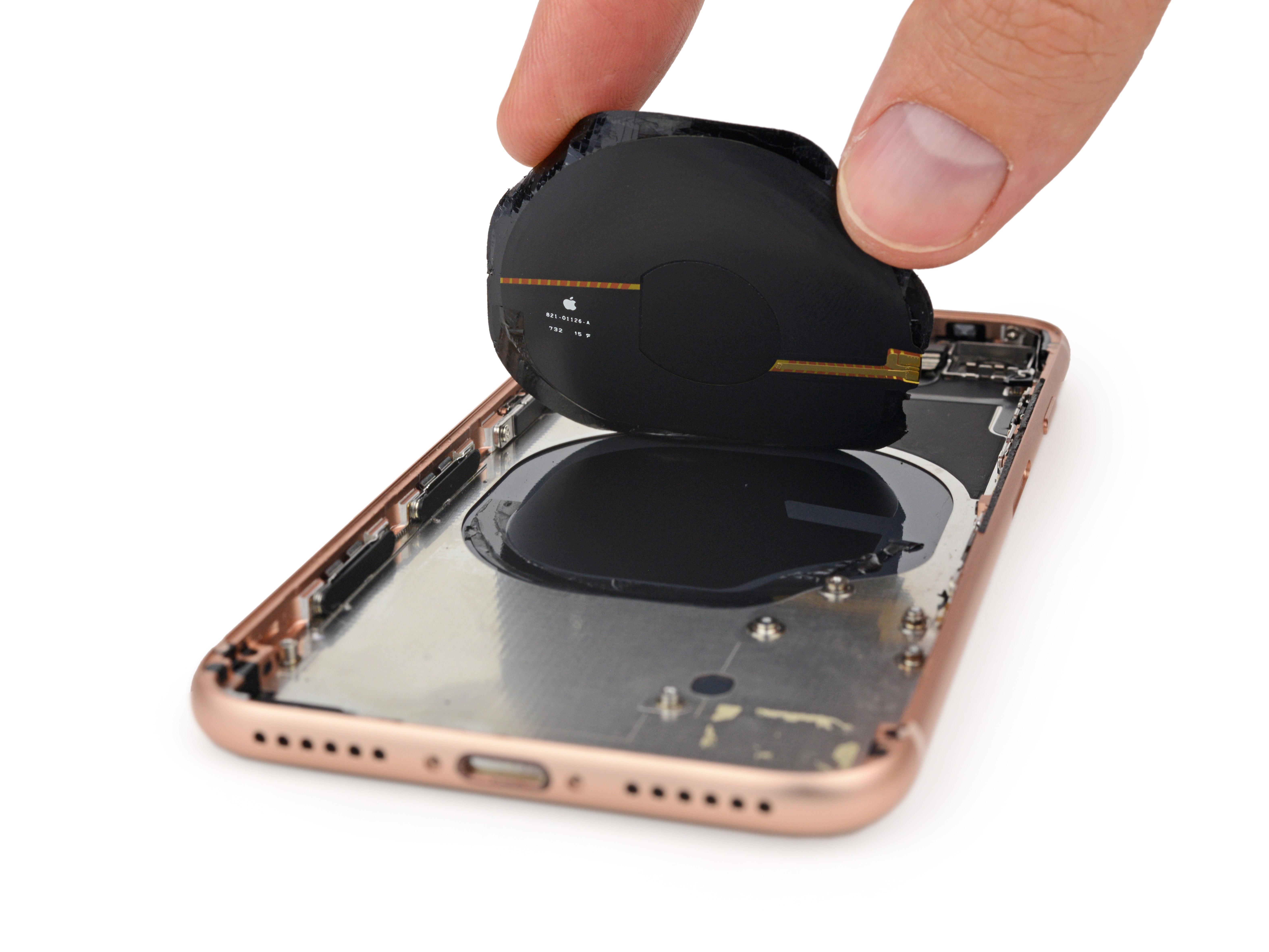 Malla en la zona de obligación inalámbrica del <strong>iPhone</strong>® 8
