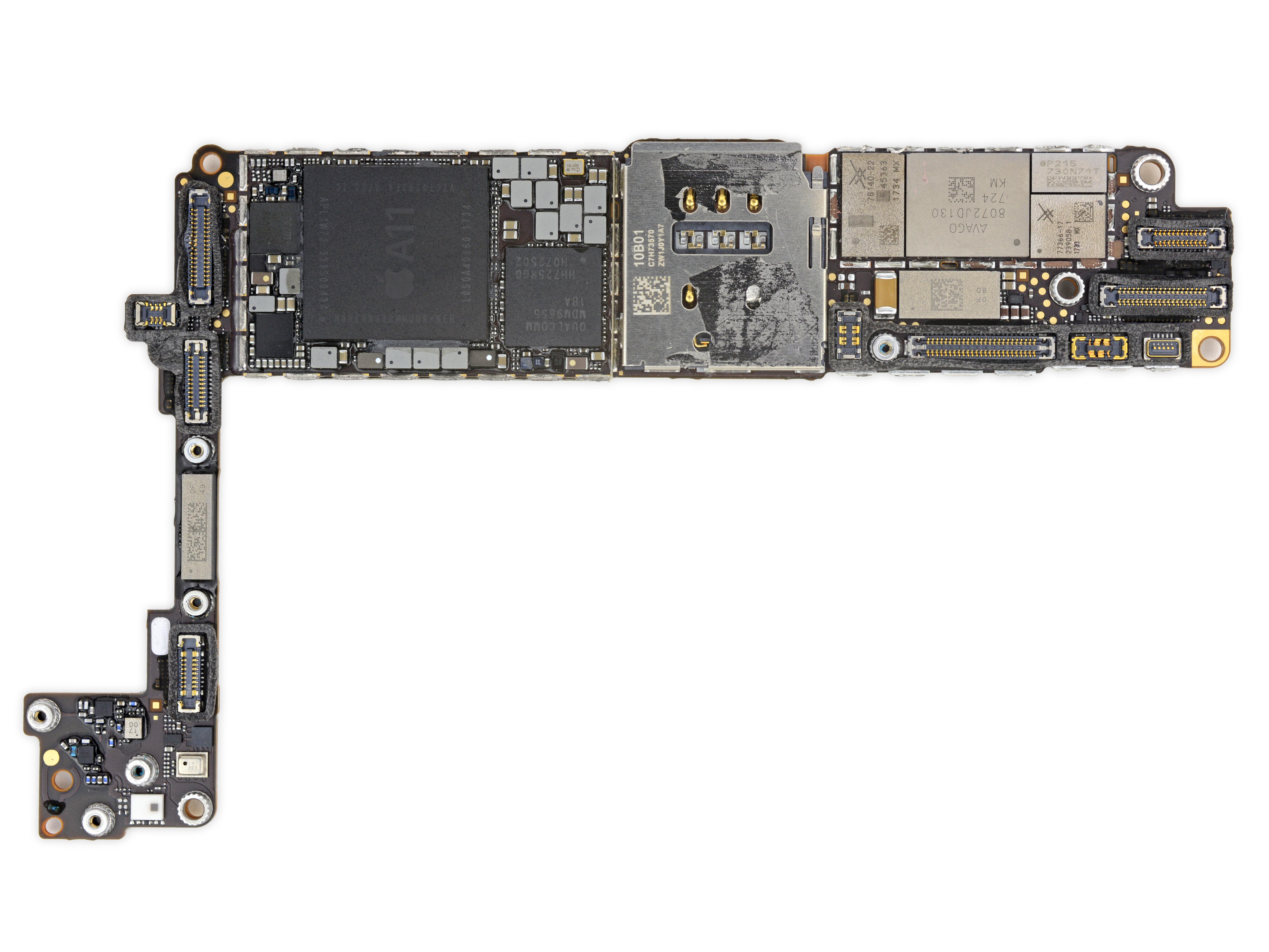 Placa base del iPhone 8