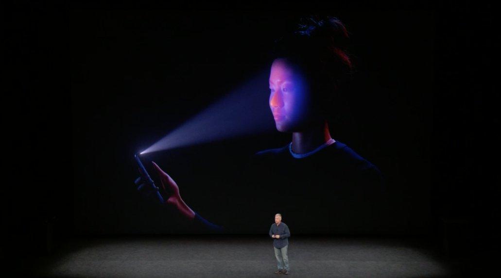 Face ID funciona además a oscuras