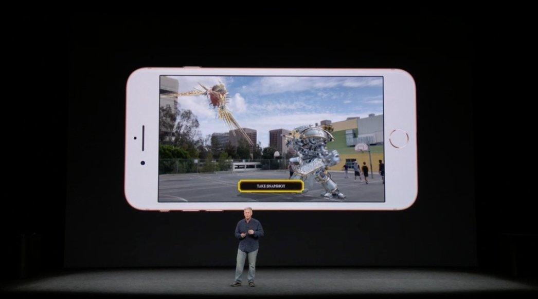 Realidad aumentada en el iPhone 8