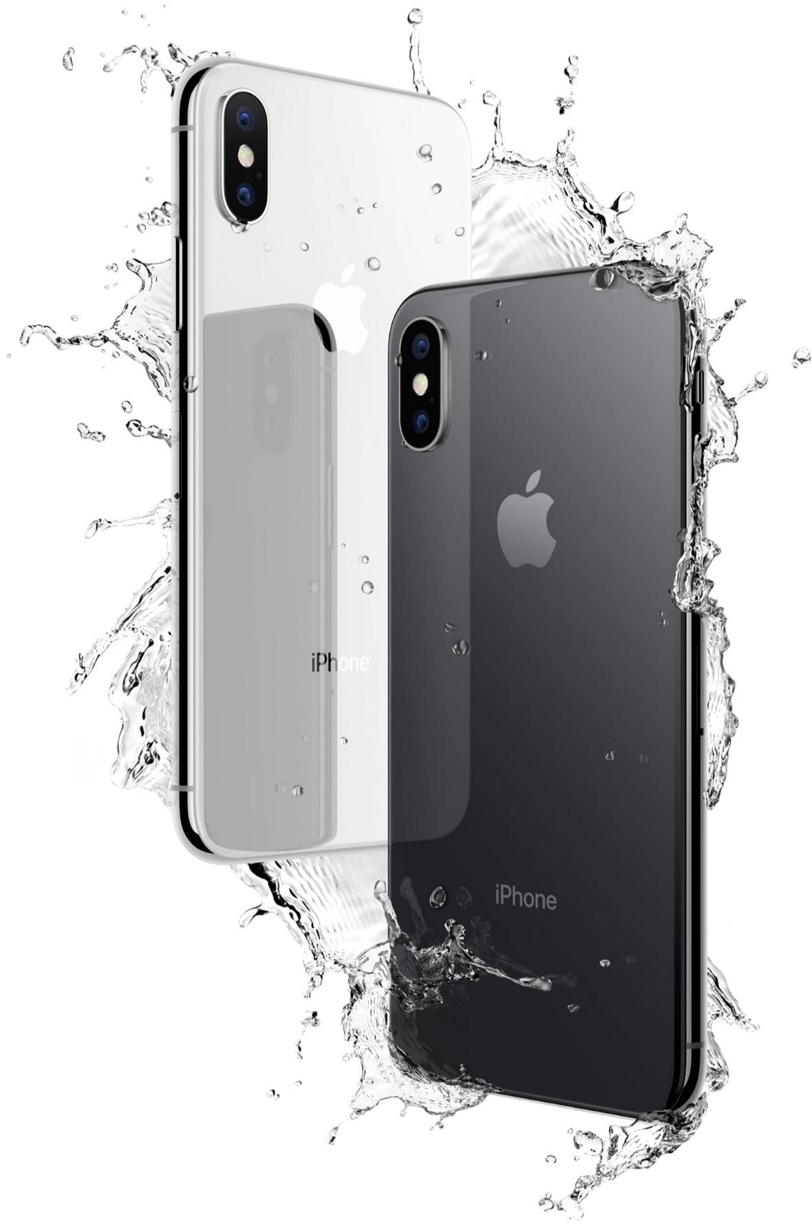 Resultado de imagen para iphone x resistente al agua