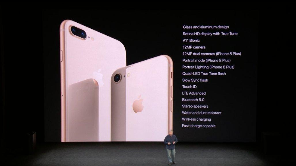 Resumen del iPhone 8