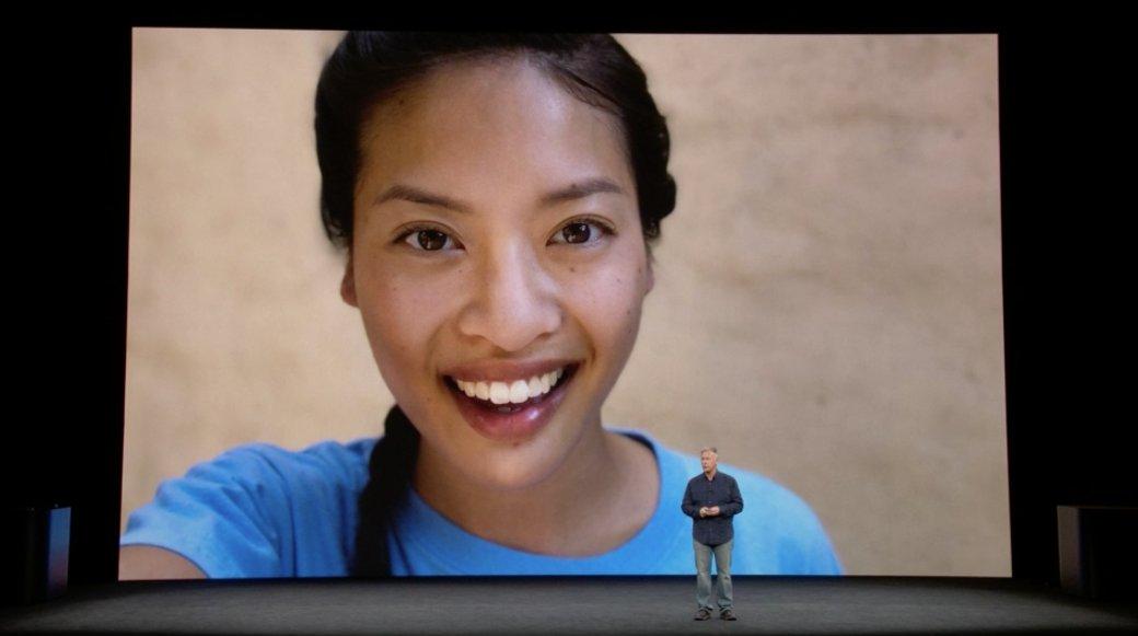 Modo retrato con la camara frontal del iPhone X
