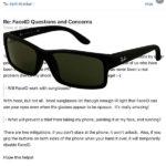 Email de Federighi con lentes de sol