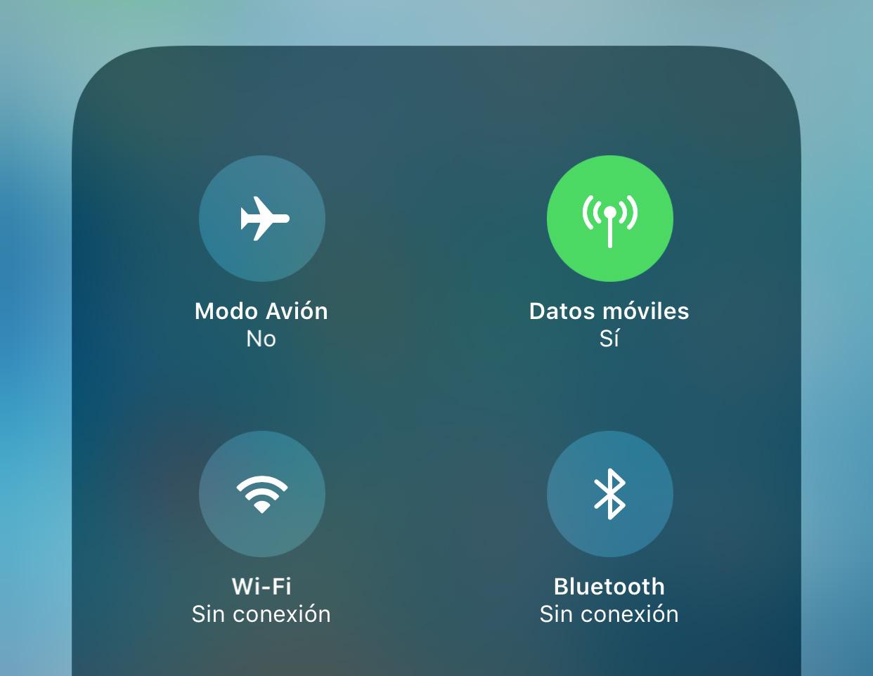 Sin conexión Wi-Fi o Bluetooth