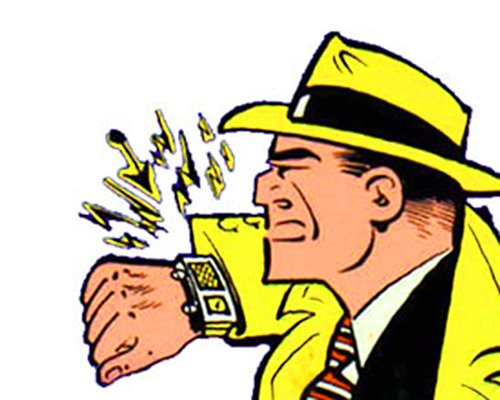 El reloj de Dick Tracy