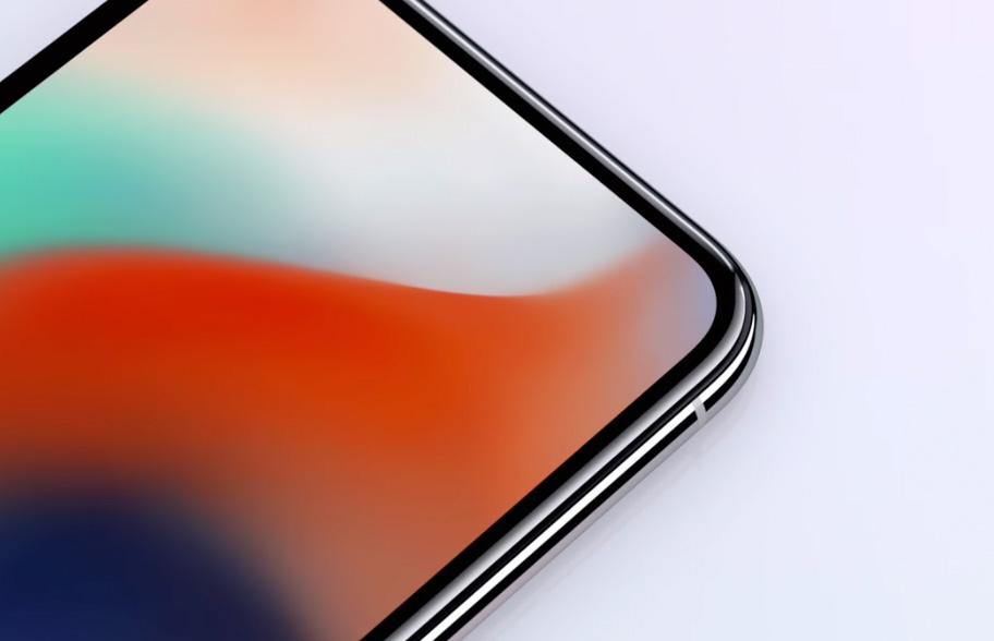detalle del iPhone X