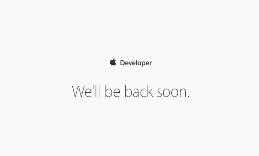 Portal de desarrolladores cerrado