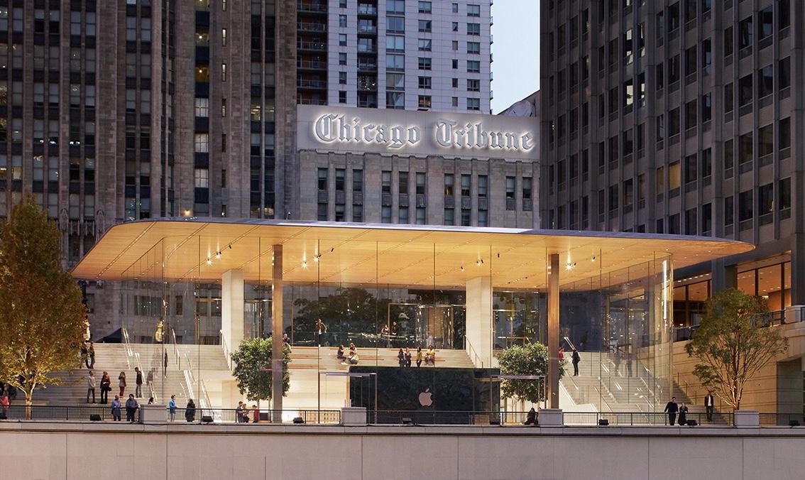 Nueva Apple™ Store de Chicago Michigan Avenue