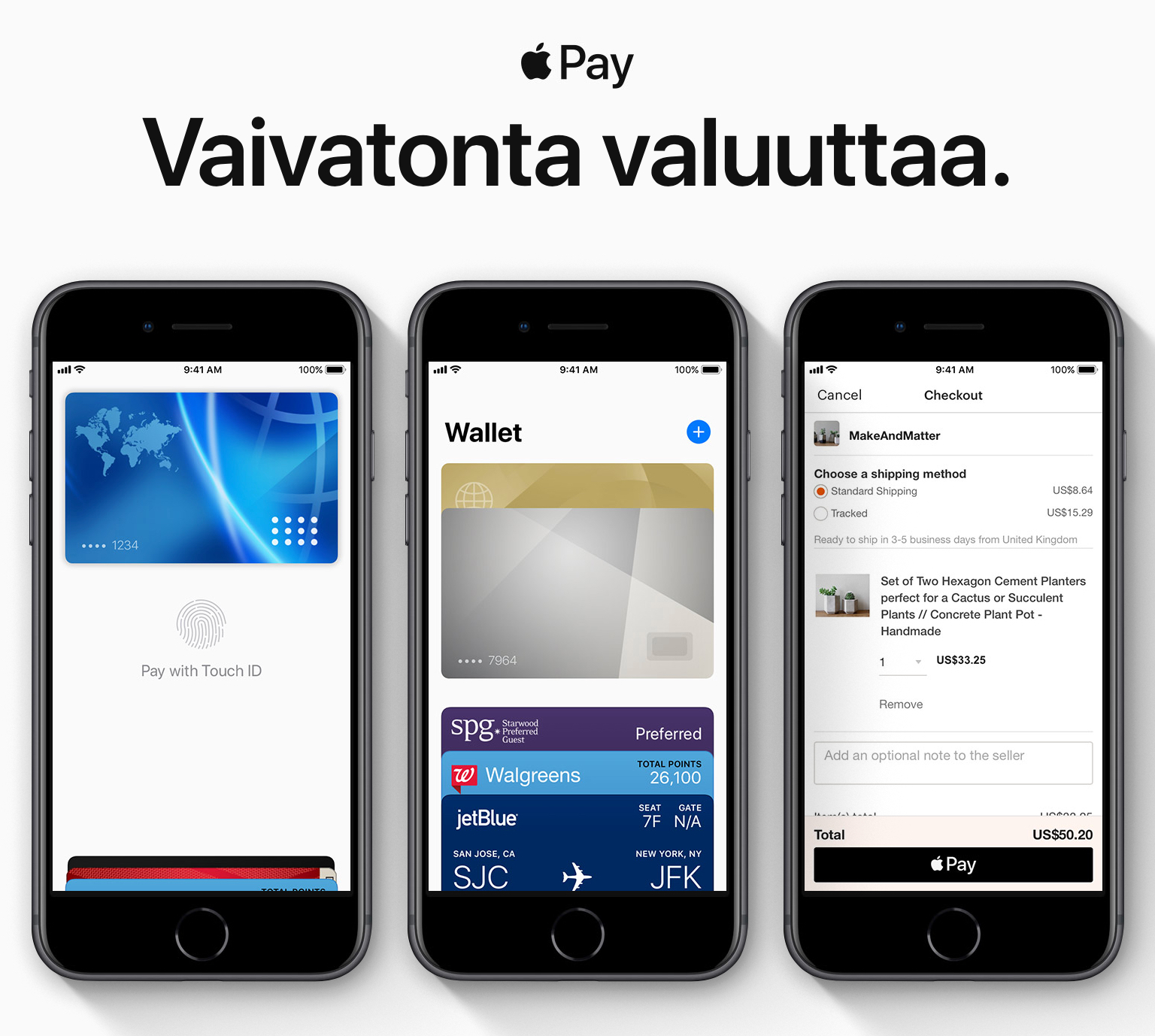 Apple Pay en Finlandia