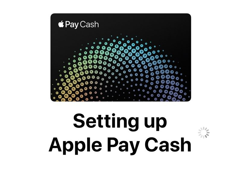 Configurando Apple™ Cash