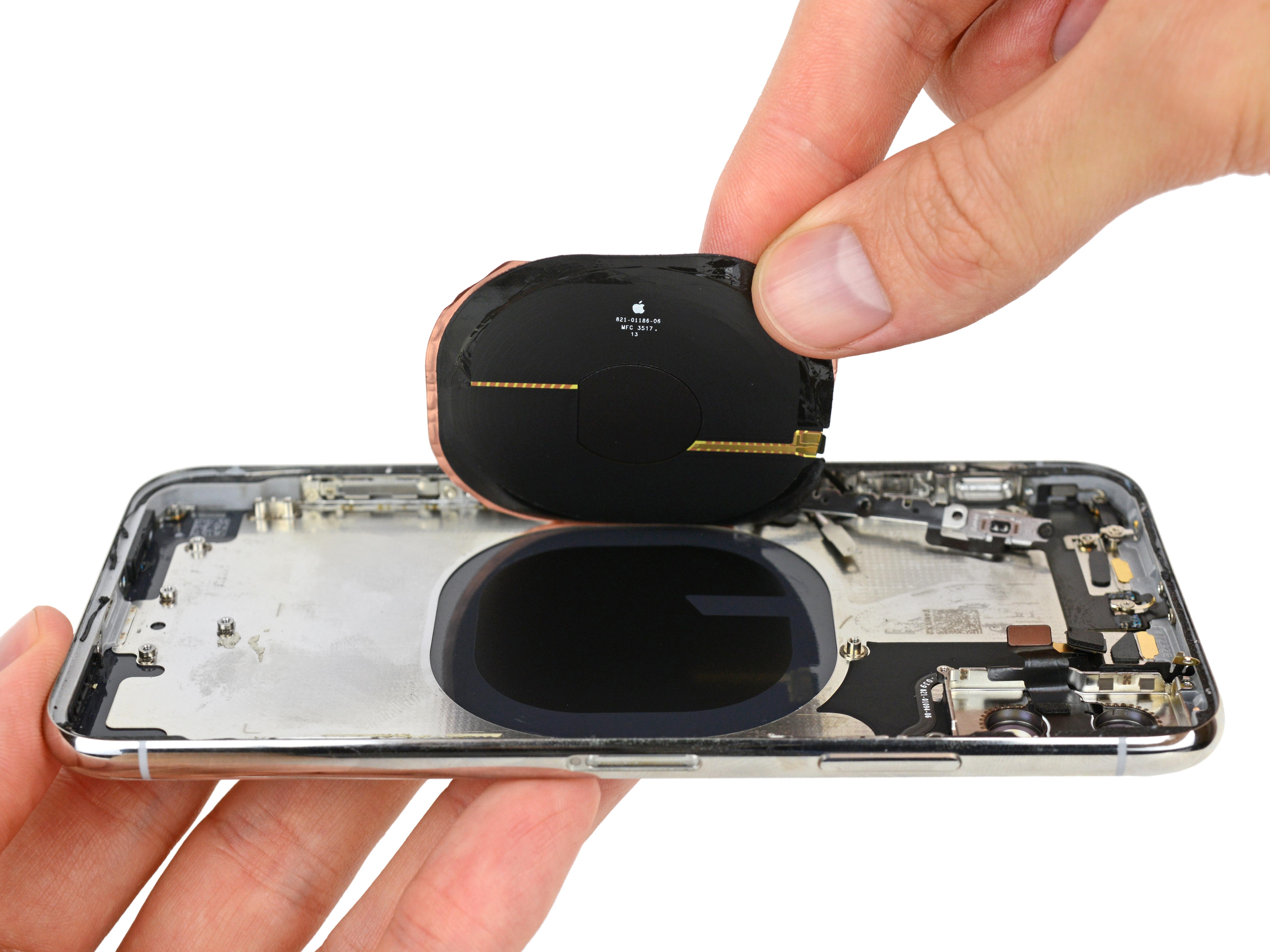 Receptor de energía del sistema inalámbrico del iPhone X