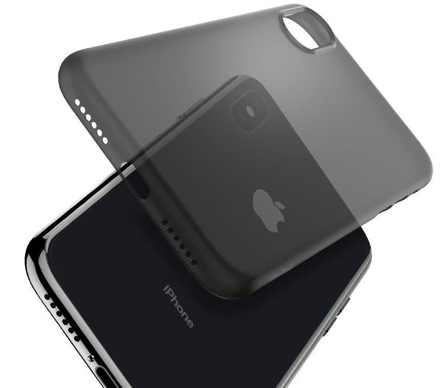 Funda Spigen Air Skin para iPhone X