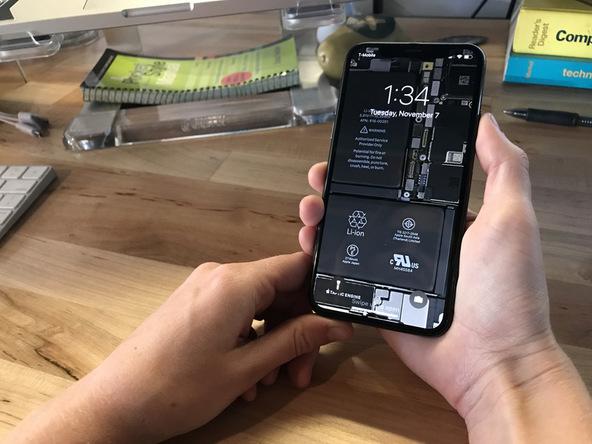 Fondo de pantalla del interior del iPhone X