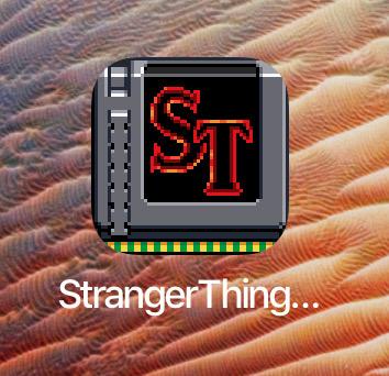 Icono de Stranger Things