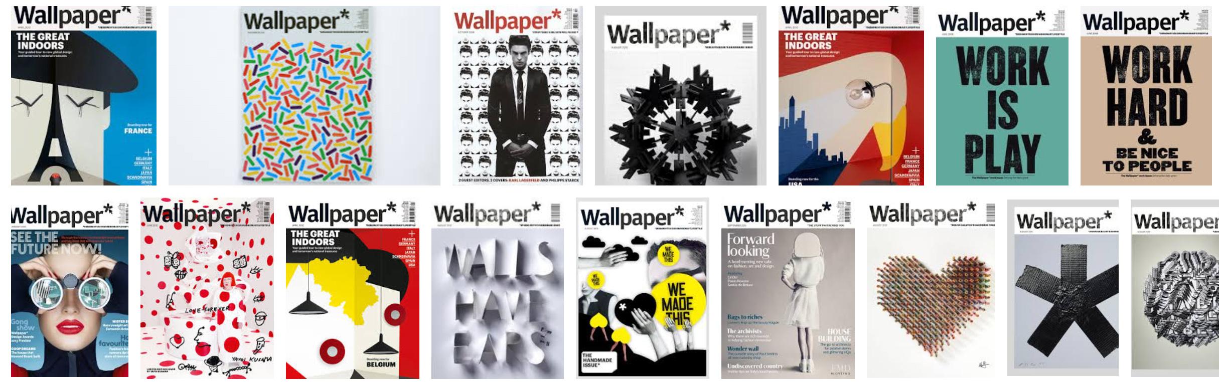 Portadas de la revista Wallpaper*
