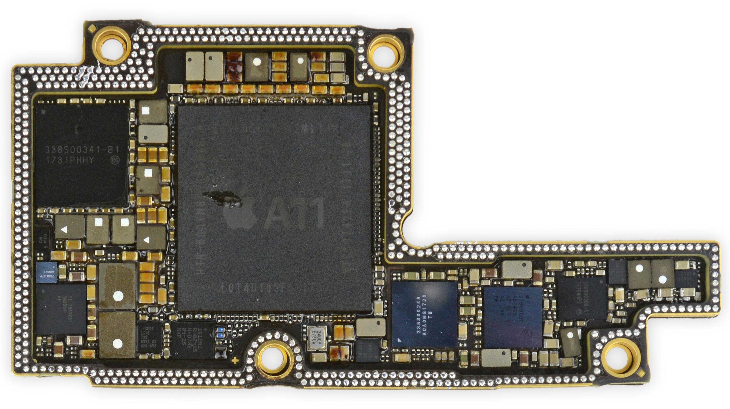 Placa base del iPhone X